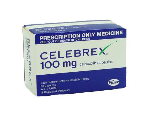 What are the dosage instructions of taking Celebrex?
